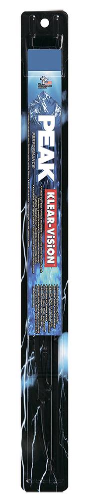 Щетка стеклоочистителя Peak Klear-Vision, каркасная, 33 см, 1 шт2706 (ПО)Щетка стеклоочистителя Peak Klear-Vision имеет традиционную каркасную конструкцию. Совместима со стандартным поводками типа hook (крючок), Side pin (боковой штырь) и Bayonet arm, благодаря чему ее легко устанавливать. Увеличенный размер чистящей поверхности позволяет более тщательно очищать поверхность стекла. Несколько точек давления обеспечивают равномерное прилегание к стеклу. Каркас из нержавеющей стали, шлиц и клепки обеспечивают высокие эксплуатационные характеристики.