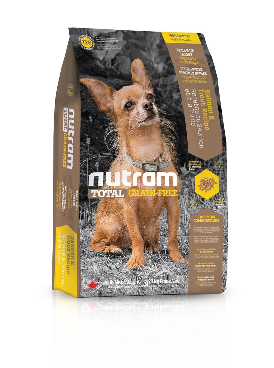 Сухой корм Nutram GF SB Salmon & Trout Dog Food, для собак мелких пород, без зерновой, со вкусом мяса лосося и форели, 2,72 кг