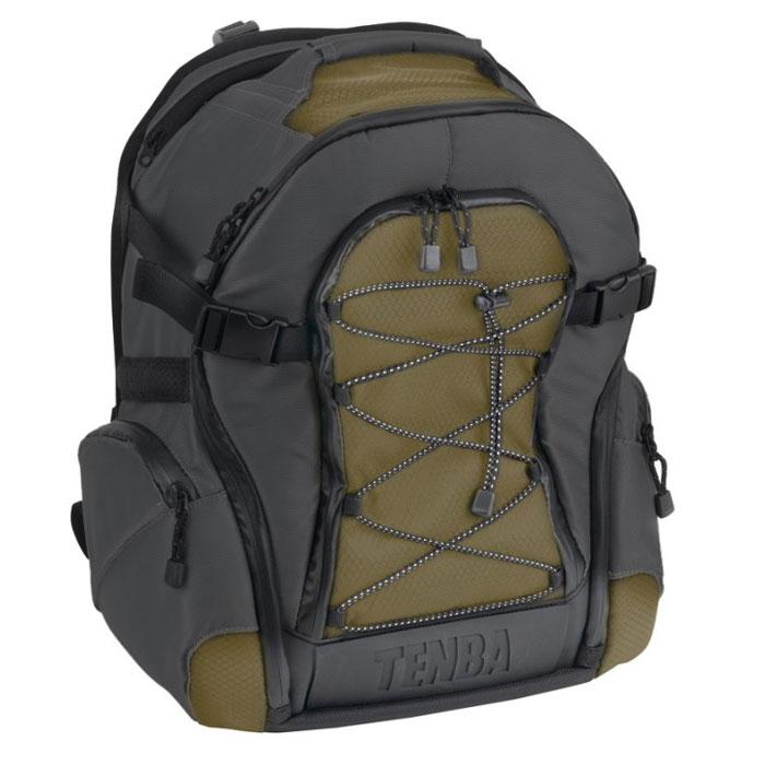 Tenba Shootout Backpack Medium, Black Olive рюкзак для фотооборудования2044Рюкзак Tenba Shootout Backpack Medium защитит ваше оборудование от неблагоприятных внешних условий, предназначен для перевозки большого штатива и фотооборудования, а также ноутбука с диагональю до 15 дюймов. Вмещает в себя 1-2 камеры, 6-8 объективов (до 300 мм f2.8), вспышку и аксессуары, а также практически любого размера штатив.