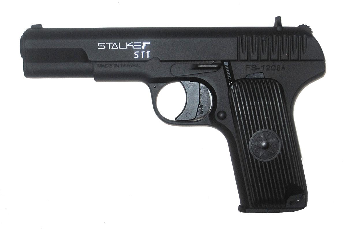 Пистолет пневматический Stalker STT (аналог ТТ). ST-21051T пневматический пистолет glock в минске