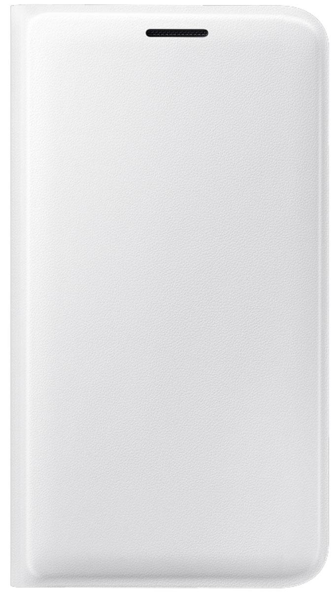 Samsung EF-FJ120 Flip Wallet чехол для Galaxy J1 (2016), WhiteEF-WJ120PWEGRUЧехол-книжка Samsung Flip Wallet для Galaxy J1 защищает корпус устройства от внешних повреждений. Высококачественные материалы обеспечат долгий срок службы как чехла, так и смартфона. Эргономичный дизайн сделает использование гаджета еще более удобным, а тонкие формы не увеличивают размеры устройства. Чехол имеет свободный доступ ко всем разъемам и кнопкам устройства.