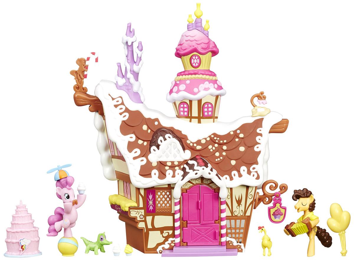 My Little Pony Набор фигурок Сахарный уголок Пинки Пай сахарный домик блокнот