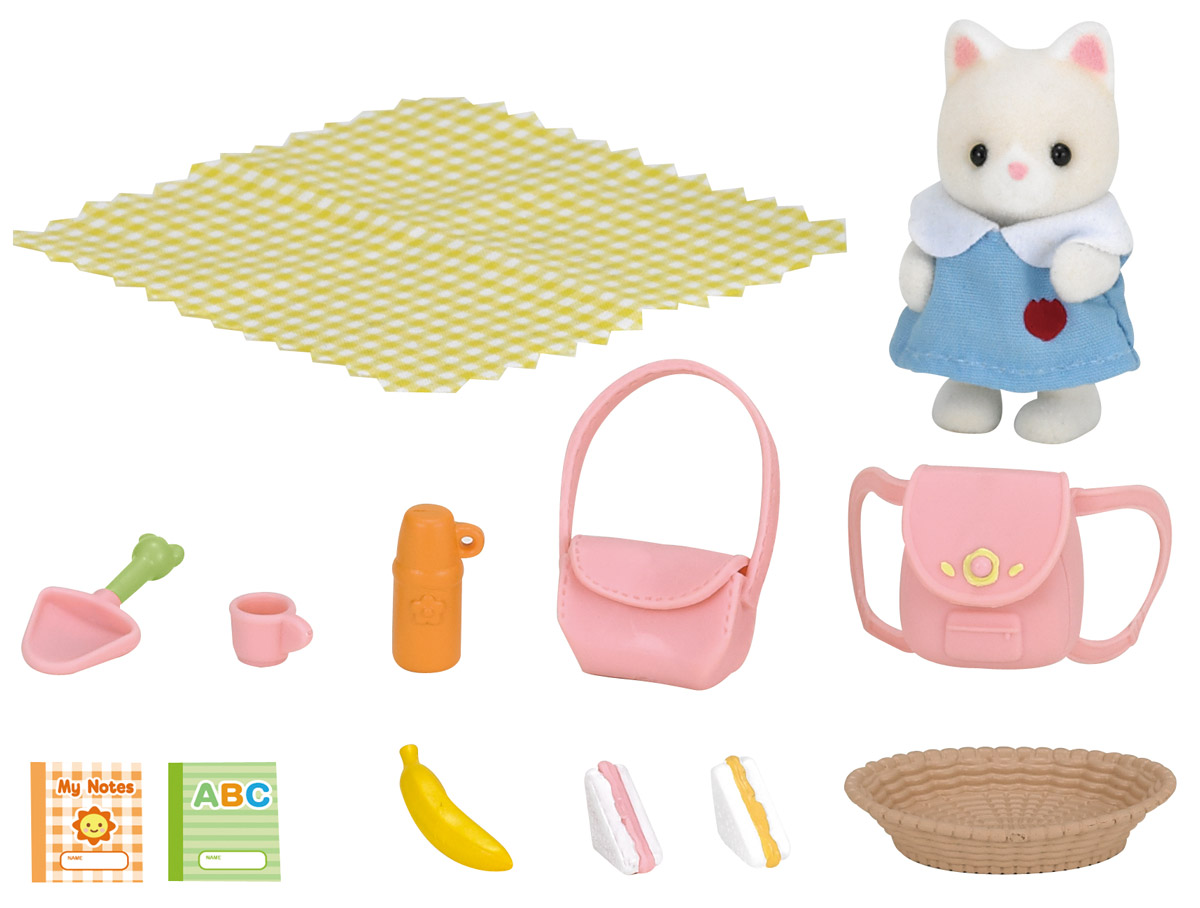 Sylvanian Families Игровой набор Пикник в детском саду фигурки игрушки sylvanian families набор спектакль в детском саду