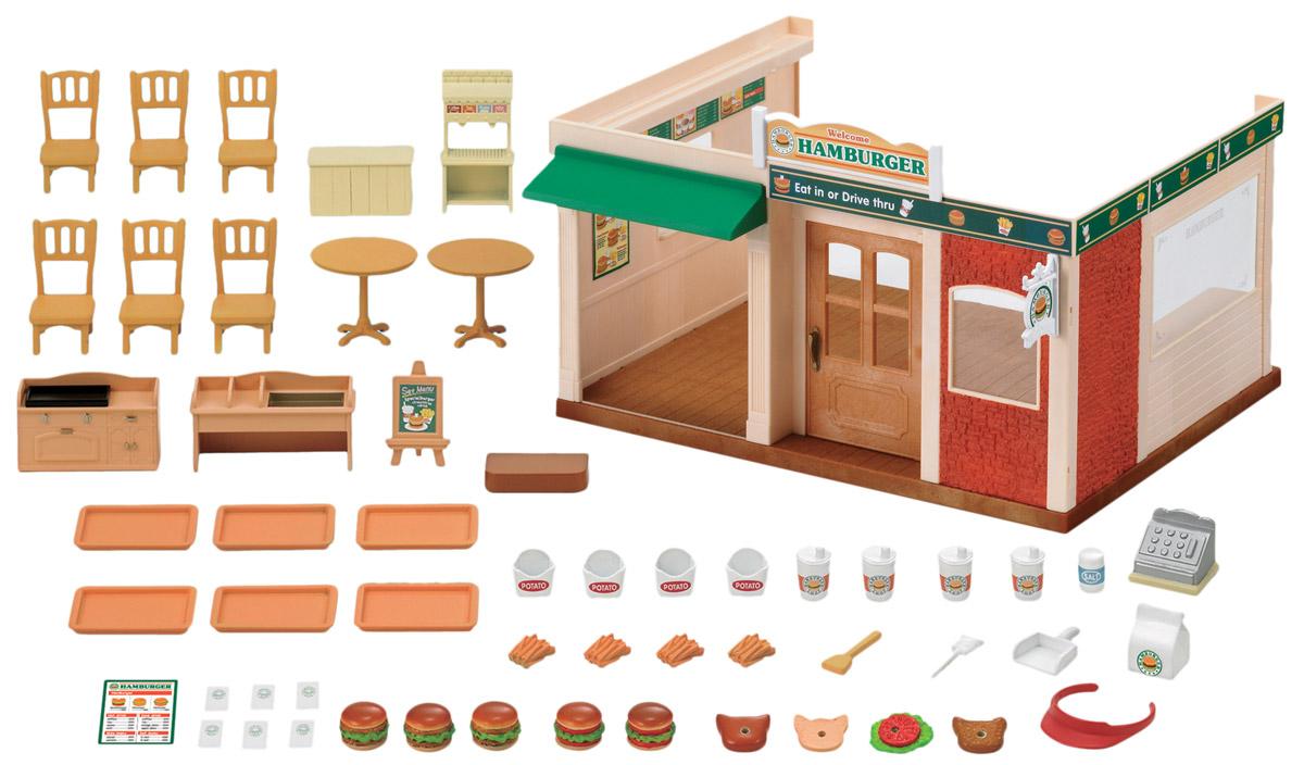 купить Sylvanian Families Игровой набор Ресторан Гамбургер недорого
