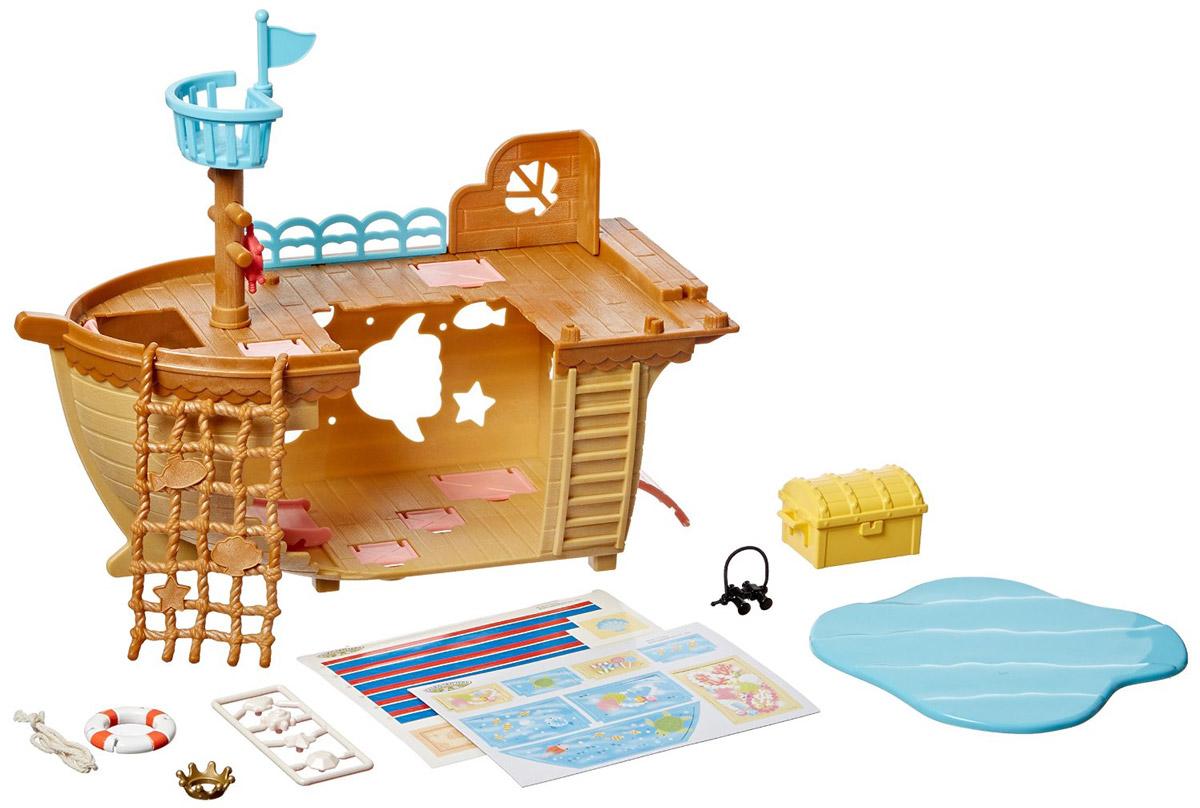 Sylvanian Families Игровой набор Детская площадка Сокровища морей