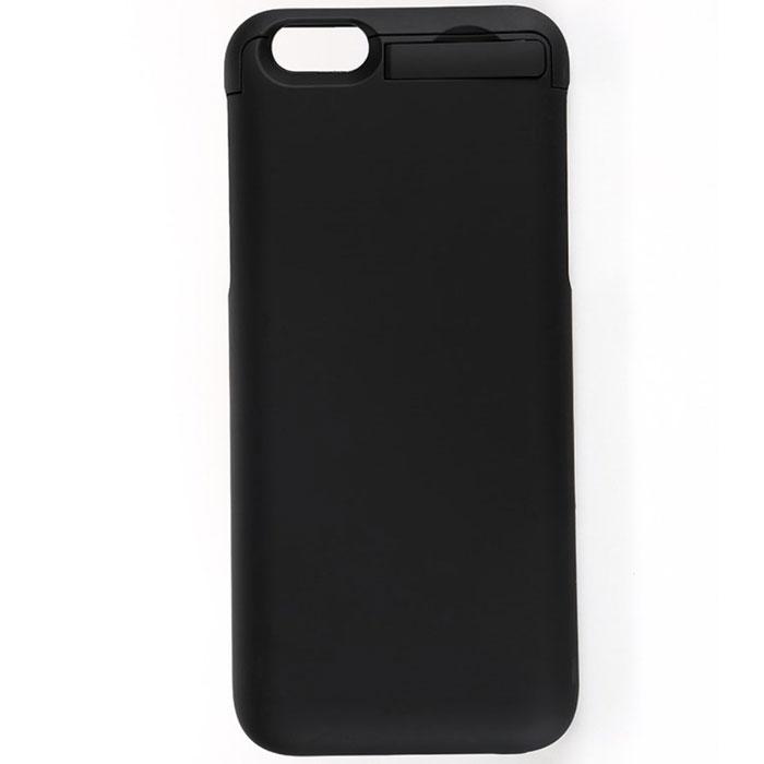 EXEQ HelpinG-iC09, Black чехол-аккумулятор для iPhone 6 (3300 мАч, клип-кейс)HelpinG-iC09 BLПодбираете надежный и стильный чехол для своего любимого смартфона? Предлагаем рассмотреть уникальное предложение и купить чехол-аккумулятор Exeq HelpinG-iC09. Лаконичный дизайн, практичная цветовая гамма, надежная защита и дополнительный аккумулятор с емкостью в 3300 мАч. Такой уникальный чехол не только обеспечит высокую степень защиты вашему iPhone 6, но и гарантирует его бесперебойную работу в течение длительного времени.Удобная конструкция чехла-аккумулятора Exeq HelpinG-iC09 создана таким образом, чтобы практически полностью повторять контуры телефона и совсем незначительно увеличивать его габариты и вес. Идеальное совмещение всех разъемов на телефоне и чехле позволит не вынимать телефон из чехла длительное время. Зарядка Exeq HelpinG-iC09 происходит от зарядного устройства телефона – достаточно просто подсоединить устройство к чехлу. Для зарядки телефона, его также не нужно извлекать из чехла – просто подключите зарядное к чехлу и нажмите кнопку питания на чехле. Еще чехол оборудован удобной выдвижной подставкой, которая позволит комфортно расположить телефон во время просмотра видео или общения по skype.Exeq HelpinG-iC09 станет отличным аксессуаром для вашего смартфона в долгом летнем путешествии, зимнем походе и в обычной повседневной жизни, когда за суетой повседневных дел у вас не всегда есть возможность зарядить ваш смартфон по полной!