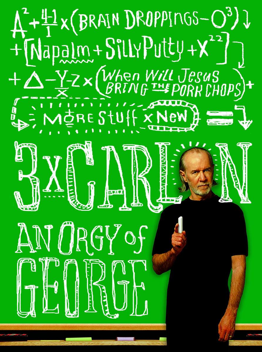 3 x Carlin: An Orgy of George omnibus