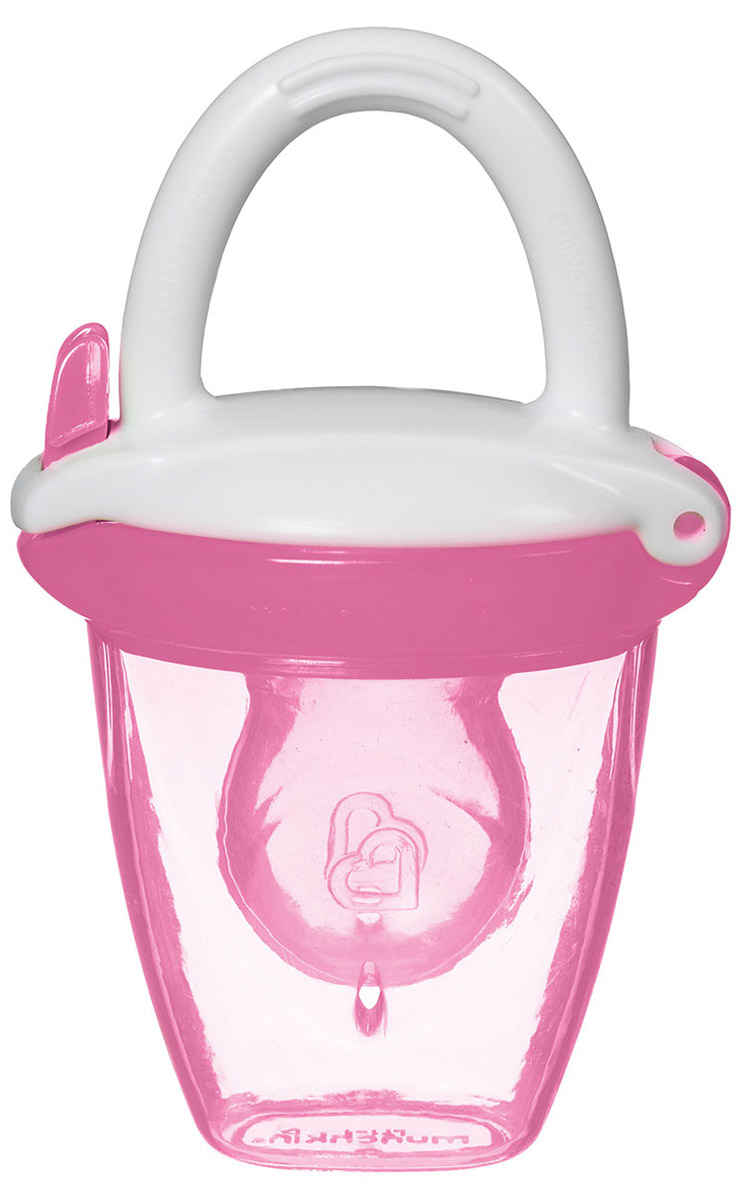 Munchkin Ниблер для детского питания от 4 месяцев цвет розовый стайлер mayer&boch mb 10780