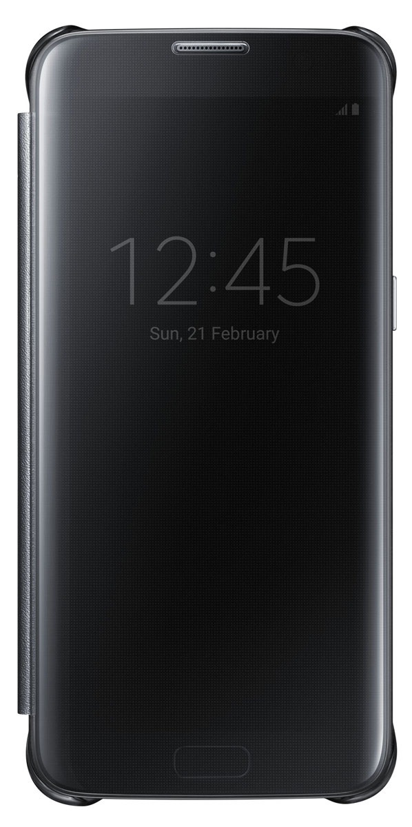 Samsung EF-ZG935 Clear View Cover чехол для Galaxy S7 Edge, Black mavi джинсы martin