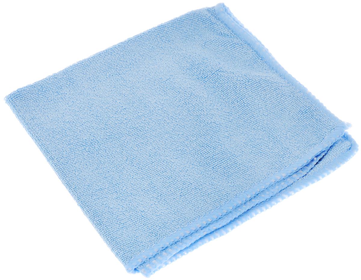 Салфетка из микрофибры для уборки Youll Love, цвет: голубой, 30 х 30 см. 5804458044_голубойСалфетка Youll Love, изготовленная из микрофибры (70% полиэфир и30%полиамид), предназначена для очищения загрязнений на любых поверхностях. Изделие обладает высокой износоустойчивостью и рассчитано на многократное использование, легко моется в теплой воде с мягкими чистящими средствами. Супервпитывающая салфетка не оставляет разводов и ворсинок, удаляет большинство жирных и маслянистых загрязнений без использования химических средств.