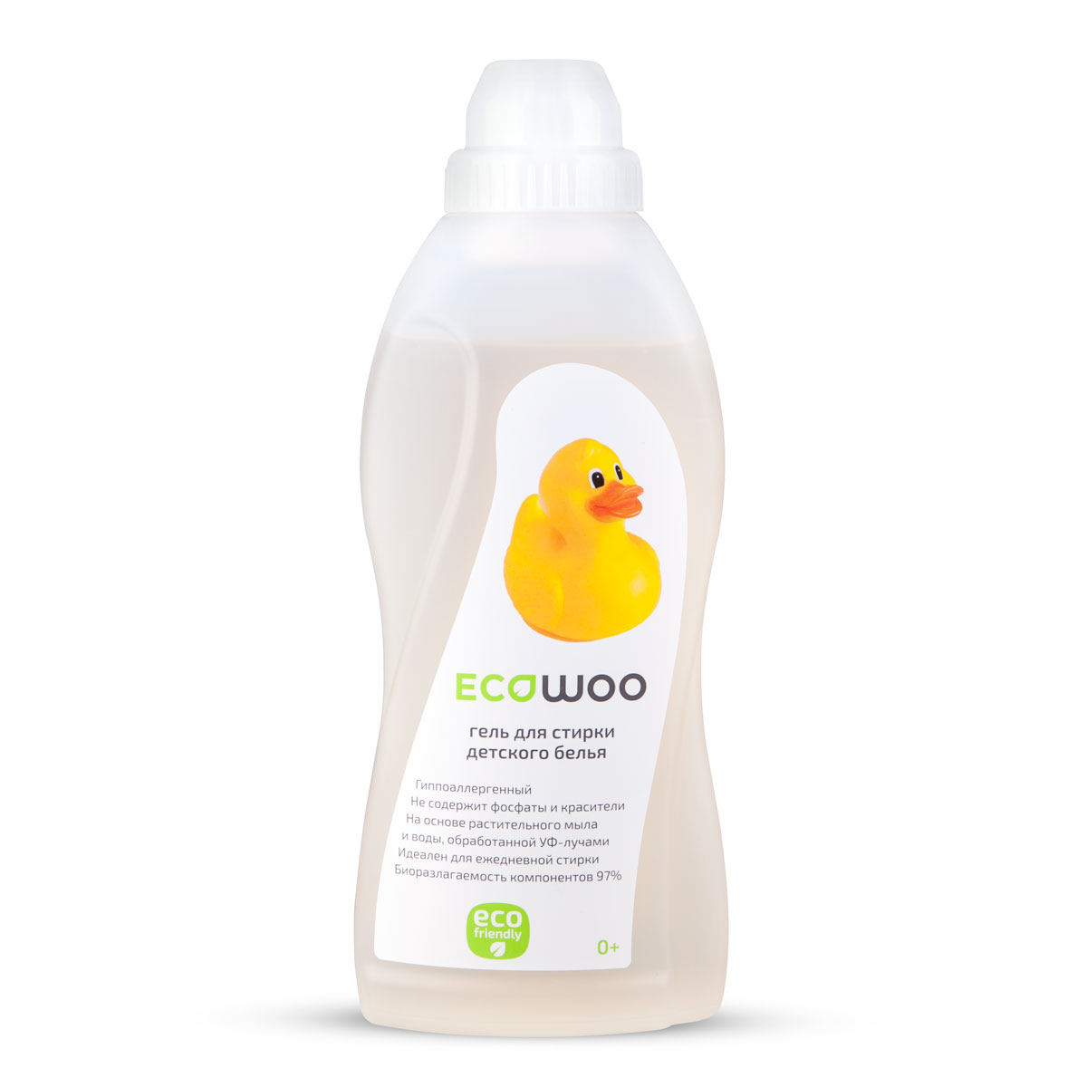 Гель для стирки детского белья EcoWoo, гипоаллергенный, 700 млЕ088156Гипоаллергенный гель EcoWoo подходит для стирки детского белья с первых дней жизни ребенка. Средство на основе растительного мыла и воды, обработанной УФ- лучами, не содержит фосфаты и красители. Идеален для ежедневной стирки. Биоразлагаемость компонентов 97%. Рецептура на основе натурального мыла разработана специально для чувствительной детской кожи с первых дней жизни.Состав: вода специально подготовленная, АПАВ 5-15%, растительное мыло 5-15%, НПАВ менее 5%, гипоаллергенная отдушка, консервант.Товар сертифицирован.