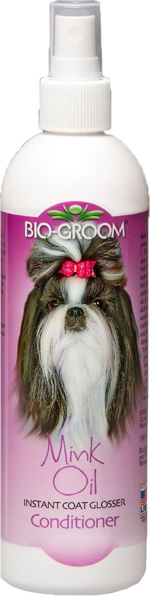 Спрей для животных Bio-Groom  Mink Oil , с норковым маслом, 355 мл - Средства для ухода и гигиены