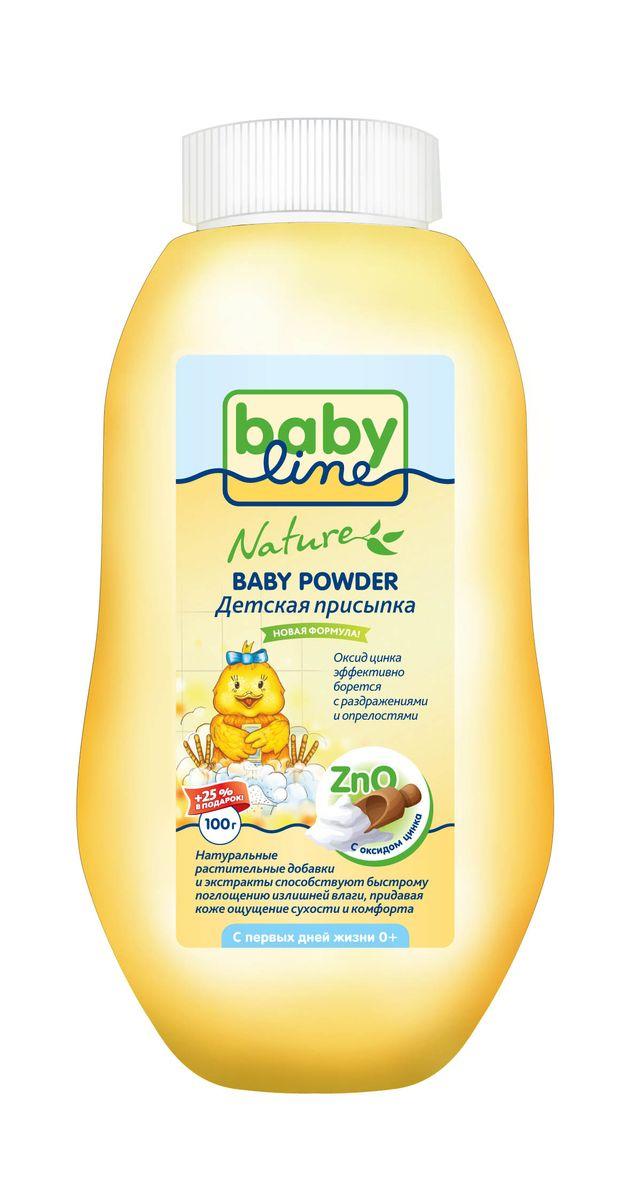 BabyLine Nature Присыпка детская с оксидом цинка 125 г babyline nature присыпка детская с оксидом цинка 125 г