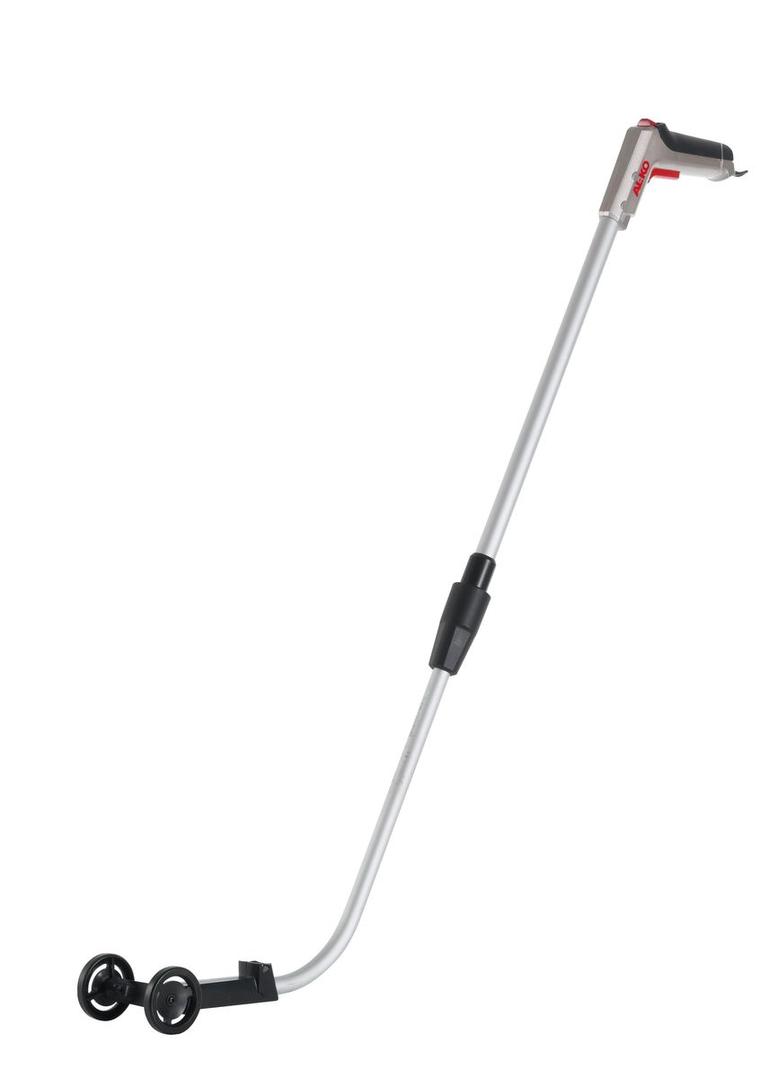 Ручка телескопическая для аккумуляторных ножниц AL-KO GS 3,7 LI112785Подравнивание нависающих краев газона, стоя на коленях, может быть не только утомительным, но и болезненным процессом - при такой работе поранить колени очень легко. А постоянные наклоны могут привести к сильным болям в спине. Чтобы этого избежать, вы можете воспользоваться телескопической ручкой AL-KO GS 3,7 LI. Установив аккумуляторные ножницы на телескопическую ручку, вы значительно облегчите себе работу. С ее помощью края газонов вдоль стен и заборов можно подравнивать без утомительных наклонов, что с точки зрения эргономики - просто бесценно.