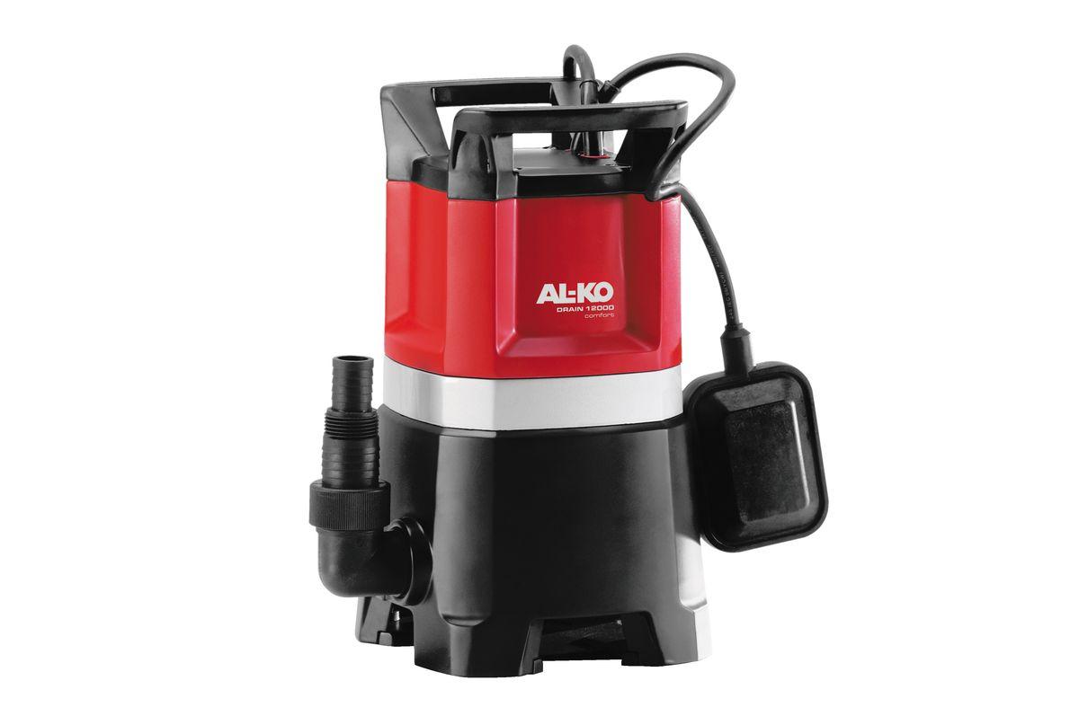Насос погружной AL-KO Drain 12000 Comfort112826Мощный и надежный погружной насос с запасом мощности AL-KO Drain 12000 Comfor предназначен для грязной воды. Не требующий технического обслуживания двигатель, стальной вал двигателя со специальной обработкой и корпус из полипропиленового стеклопластика гарантируют длительный срок службы насосов AL-KO для грязной воды. Насос для грязной воды укомплектован свободно вращающимся на 90° уголковым переходником, предотвращающим нежелательные перегибы подающего шланга. Комбинированный ниппель позволяет подсоединять шланги различных размеров. Благодаря большим входным отверстиям насос может без труда перекачивать воду с частицами грязи и взвешенными частицами диаметром до 30 мм.Длина кабеля: 10 м.Мощность: 850 Вт.Максимальная глубина погружения: 5 м.Максимальная высота всасывания: 10 м.Максимальный объем подачи: 12000 л/час.Максимальный размер взвешенных частиц: 3 см.Диаметр выходного отверстия: 1,5.