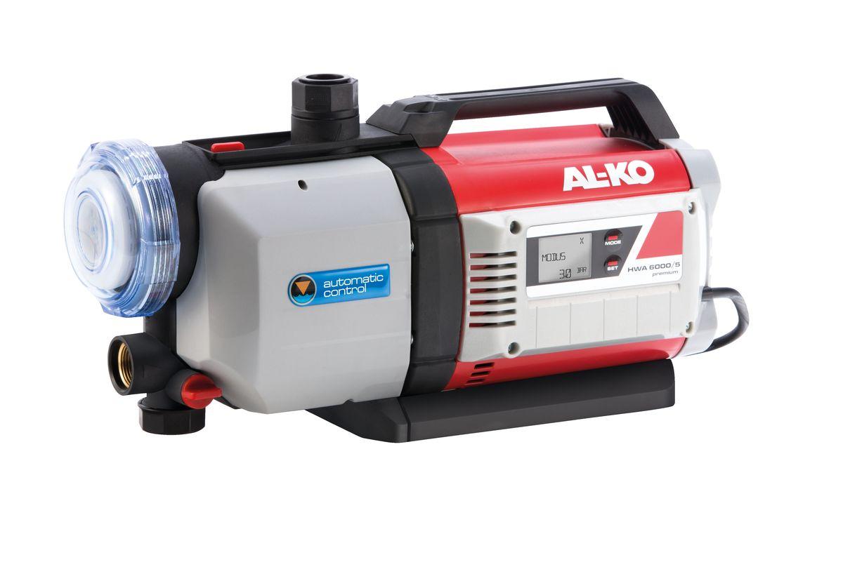 Станция насосная AL-KO HWA 6000/5113141Автоматическая насосная станция AL-KO HWA 6000/5 - это управляемое электроникой водоснабжение в доме и в саду. Идеально подходит для полива грядок и газонов, для подачи воды в оросительных системах и садовых душах, для перекачивания и выкачивания дождевой и водопроводной воды. Пятиступенчатый механизм подачи воды гарантирует высокую производительность и очень низкий уровень шума. Несложное введение в эксплуатацию обеспечивает наличие обратного клапана. Большой, легко очищающийся предварительный фильтр надежно защитит насос от загрязнения. Станция не требует особого ухода, встроенная защита от сухого хода. Безопасность и удобство в использовании благодаря полностью автоматизированной работе - включение и выключение насоса производится при помощи электронного реле давления. Гарантируется качество без компромиссов за счет использования латунных соединений. Все водоводные части выполнены из нержавеющей стали. Мощность: 1400 Вт. Глубина забора воды: 8 м. Высота напора: 60 м. Максимальный объем подачи: 6000 л/час. Рабочий механизм насоса: 1-ступенчатый. Диаметр входного и выходного отверстий: G 1.