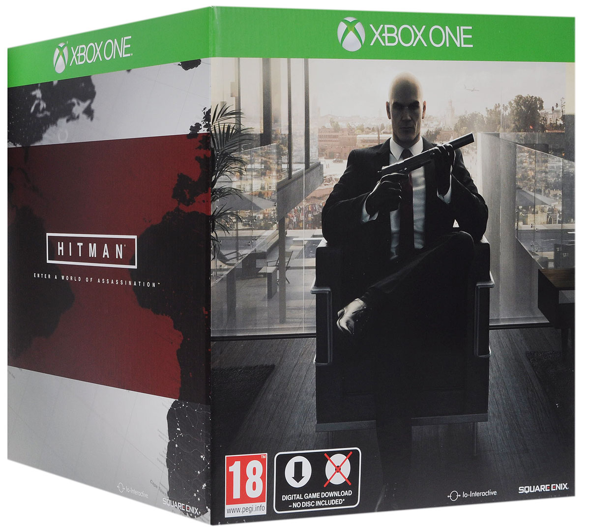 Hitman. Digital Collector's Edition (Xbox One) видеоигра для xbox one overwatch origins edition