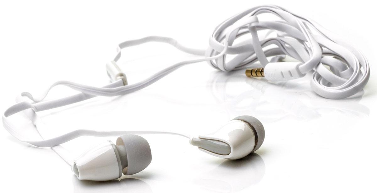 Harper Kids H-52, White наушникиH00000571Яркие и стильные наушники Harper Kids H-52 с отличным качеством звучания. Гарнитура имеет встроенный пульт имикрофон для быстрого переключения между музыкой и вызовами. Подключив её к своему смартфону илипланшету вы сможете не только наслаждаться любимой музыкой, но и с легкостью ответить на звонок, не доставаягаджет. Гарнитура имеет плоский, эластичный и устойчивый к запутыванию кабель длиной 1,2 метра. В комплектес наушниками идут мягкие силиконовые накладки 3-х размеров для максимального комфорта.