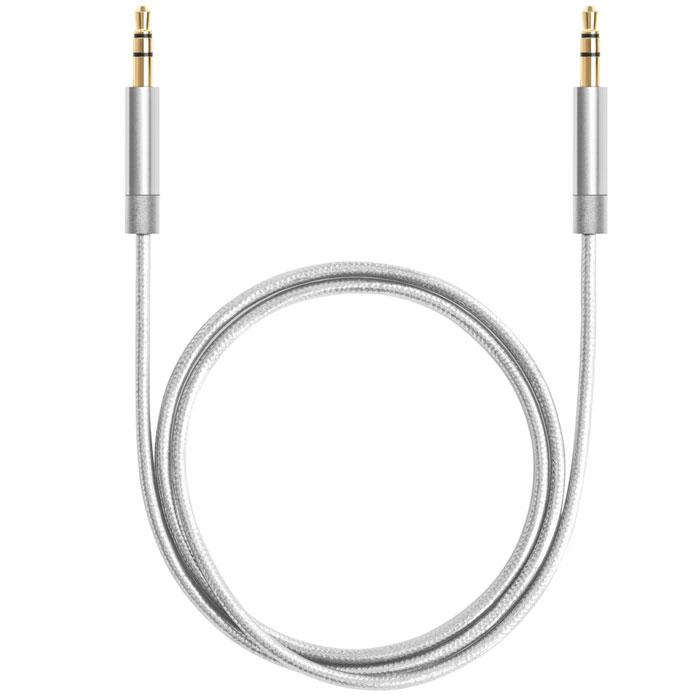 Deppa AUX Pro, Silver аудиокабель (1,2 м)72198Кабель Deppa AUX Pro предназначен для подключения вашего аудиоустройства к звуковоспроизводящему оборудованию, оснащенному входом AUX.
