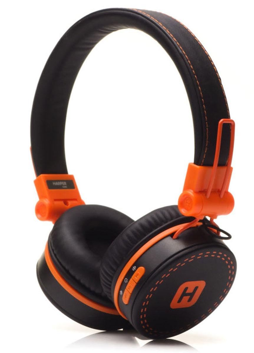 Harper Kids HB-202, Black Orange наушникиH00001019Яркие и стильные Bluetooth-наушники Harper Kids HB-202 с отличным качеством звучания. Гарнитура имеет встроенный пульт и микрофон для быстрого переключения между музыкой и вызовами. Подключив её к своему смартфону или планшету вы сможете не только наслаждаться любимой музыкой, но и с легкостью ответить на звонок, не доставая гаджет. Гарнитуру также можно подключить с помощью кабеля 3,5 мм входящего в комплект.