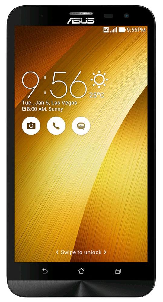 ASUS ZenFone 2 Laser ZE601KL, Gold (90AZ0113-M00380)90AZ0113-M00380Беспрецедентная производительность, четкое изображение, интуитивно понятный пользовательский интерфейс – все это вы найдете в новом смартфоне Asus ZenFone 2 Laser ZE601KL.Смартфон выполнен в изящном корпусе, толщина боковых граней которого составляет всего 3,9 мм. Обладая эргономичной формой, он украшен традиционным для мобильных устройств ASUS узором из концентрических окружностей с углублениями размером лишь 0,13 мм. Оригинальным и весьма удобным решением в его дизайне является расположенная на задней панели корпуса кнопка, с помощью которой можно делать фотоснимки, изменять громкость звука и т.д.В ZenFone Laser (ZE601KL) используется восьмиядерный 64-битный процессор Qualcomm Snapdragon 616, который сочетает высокую производительность с низким энергопотреблением. Его мощности хватит для любых мобильных приложений, а для быстрой передачи данных (на скорости до 150 Мбит/с) в данном смартфоне имеется встроенный модуль 4G/LTE.Отличительной особенностью ZenFone 2 Laser (ZE601KL) является высококачественная аудиосистема с увеличенной резонансной камерой, которая обладает более громким звуком по сравнению с конкурирующими моделями.Gorilla Glass 4 – последняя версия защитного покрытия дисплея от разработчиков Corning. Она вдвое прочнее предыдущей версии в тесте на падение, обладает в 2,5 раза большей остаточной прочностью и на 85% долговечней при ежедневном использовании.Беспроводной модуль Wi-Fi, реализованный в смартфоне ZenFone 2 Laser, соответствует новейшему высокоскоростному стандарту 802.11ac. Уверенные прием и передача радиосигнала при работе в сети Wi-Fi обеспечиваются использованием нескольких антенн и технологией формирования луча.Данная модель выдает превосходное изображение на 6-дюймовом IPS-дисплее формата Full-HD (1920 х 1080 пикселей). Углы обзора дисплея составляют 178°. Цветовой охват дисплея составляет 72% от цветового пространства NTSC, что означает яркие, сочные и реалистичные цвета.Э