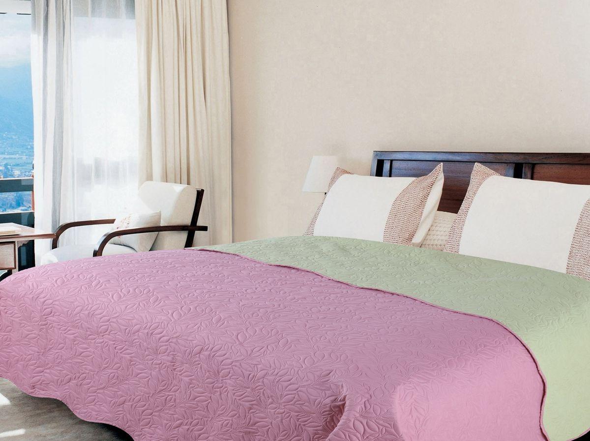 Покрывало Amore Mio Alba, цвет: розовый, зеленый, 200 х 220 см75444Роскошное покрывало Amore Mio Alba идеально для декора интерьера в различныхстилевых решениях. Однотонное изделие изготовлено из высококачественногополиэстера и оформлено рельефным рисунком. Покрывало Amore Mio Alba будет превосходно дополнять интерьер вашей спальниили станет прекрасным подарком любому человеку.Ручная стирка при 30°С. Не гладить, не отбеливать.