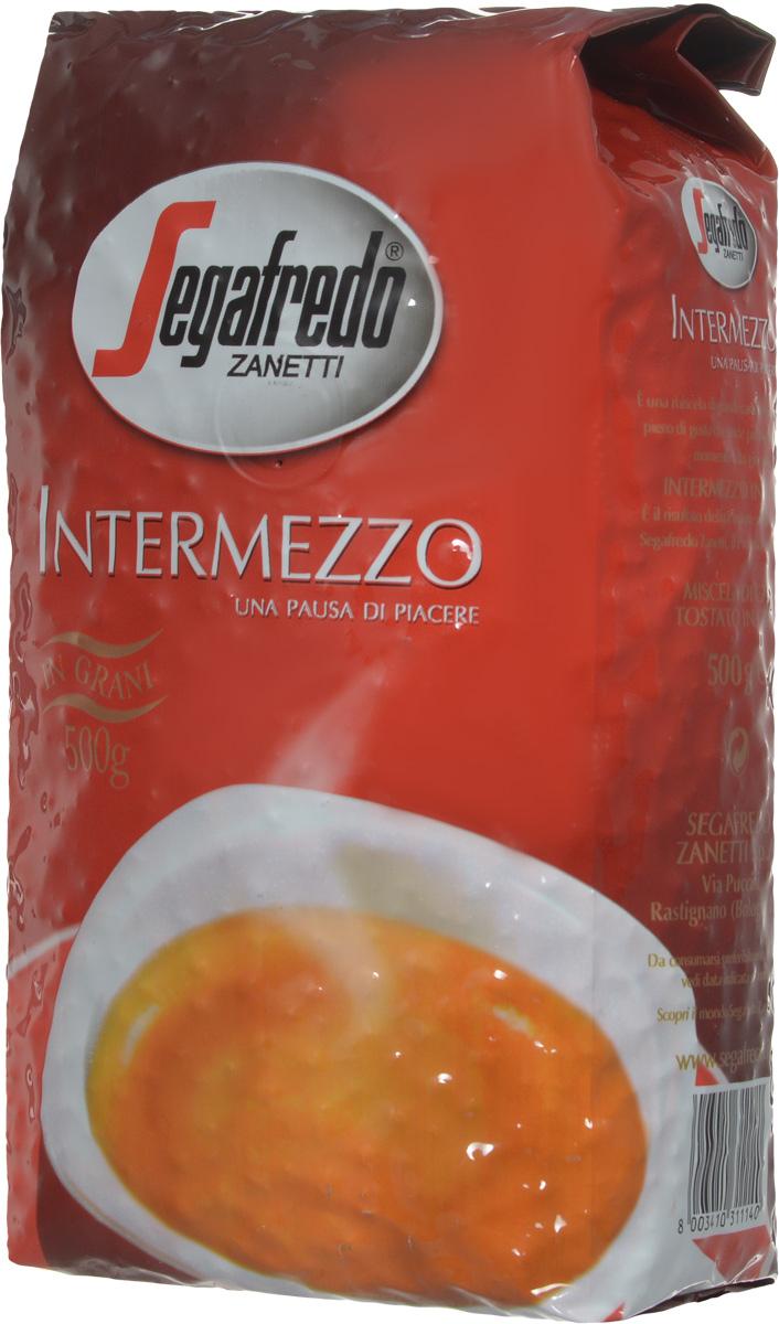 Segafredo Intermezzo кофе в зернах, 500 г segafredo le origini peru кофе молотый 250 г