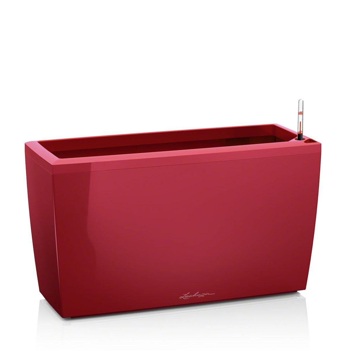 Кашпо Lechuza Cararo, с системой автополива, цвет: красный, 75 х 30 х 43 смING43017FМРКашпо Lechuza Cararo, выполненное из высококачественногопластика, имеет уникальную систему автополива, благодарякоторой корневая система растения непрерывно снабжаетсявлагой из резервуара. Уровень воды в резервуареконтролируется с помощью специального индикатора. Взависимости от размера кашпо и растения воды хватаетна 2-12 недель. Это способствует хорошему росту цветов ипредотвращает переувлажнение. Кашпо Lechuza Cararo прекрасно впишется в интерьербольших холлов, террас ресторанов и уютных гостиных.Изделие поможет расставить нужные акценты и придастпомещению вид, соответствующий вашим представлениям.В комплекте поставляется 2 ролика, благодаря которымизделие становится мобильным в любом направлении. Кашпо Lechuza Cararo идеально подойдет для посадкивысоких растений с густыми листьями.