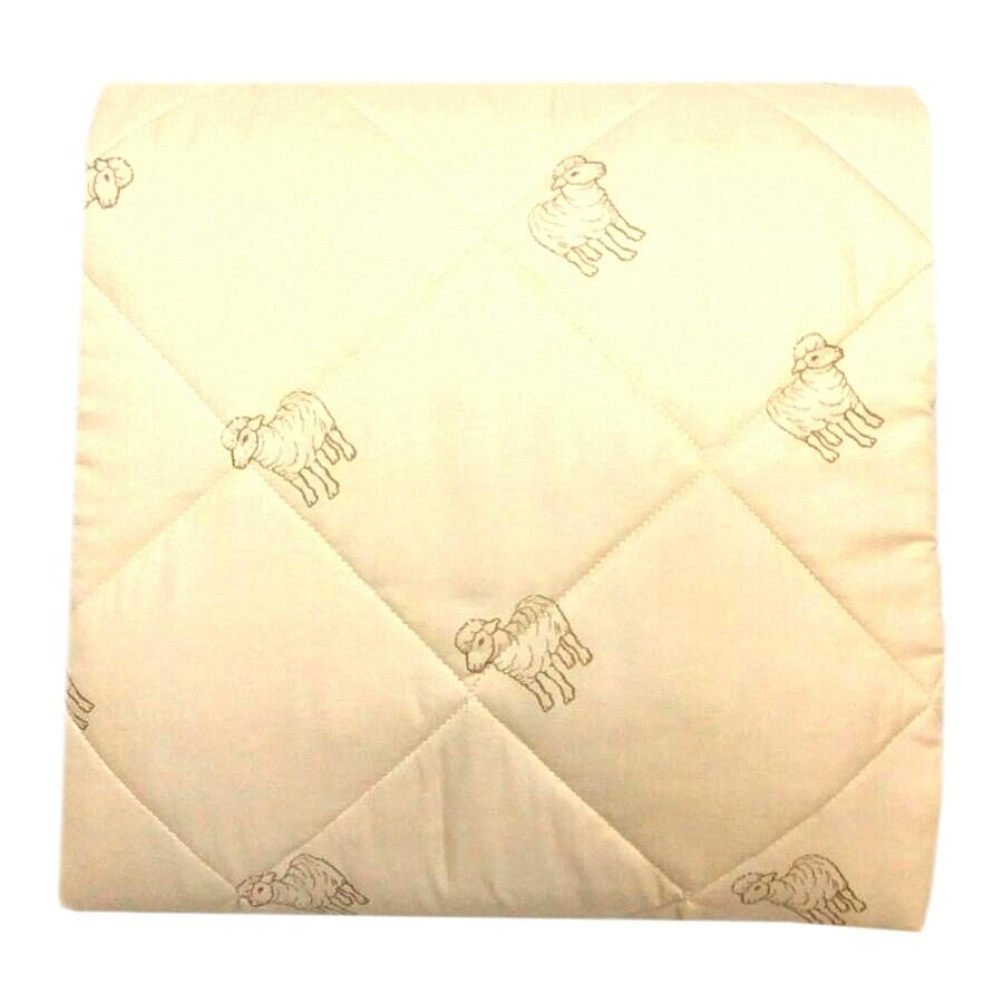 Одеяло Letto шерсть, цвет: бежевый, 170х215смovechka170Одеяло Letto с овечьей шерстью подарит вам тепло, комфорт и создаст приятную атмосферу в спальне. Облегченное одеяло (имеет 3 балла по 5 бальной шкале) прекрасно подойдет для теплых квартир, на лето и для тех, кто предпочитает более легкие одеяла зимой. При этом овечья шерсть обладает прекрасным согревающим эффектом. Одеяло выполнено из современных наполнителей, его легко стирать, сушить рекомендуется в хорошо вентилируемом помещение, к тому же плотная стежка не позволяет одеялу сбиваться - то, что нужно на каждый день. Светлый чехол немаркий и не просвечивается через белье. Наполнитель: овечья шерсть 70%, файбер 30%; чехол: полиэстер. Размер 2.0-сп: 170*215 см