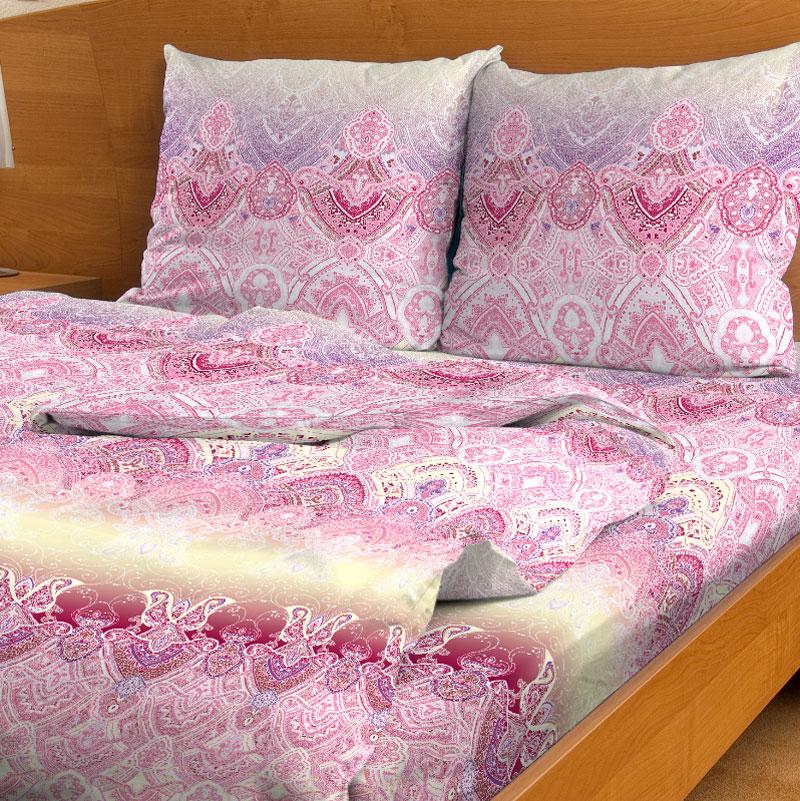 Комплект белья Letto, евро, наволочки 70x70, цвет: розовыйB92-6Серия Letto Традиция выполнена из классической российской бязи, привычной для большинства российских покупательниц. Ткань плотная (125гр/м), используются современные устойчивые красители. Традиционная российская бязь выгодно отличается от импортных аналогов по цене, при том, что сама ткань и толще, меньше сминается и служит намного дольше. Рекомендуется перед первым использованием постирать, но не пересушивать. Применение кондиционера при стирке сделает такое постельное белье мягче и комфортней. Пододеяльник на молнии. Обращаем внимание, что расцветка наволочек может отличаться от представленной на фото.