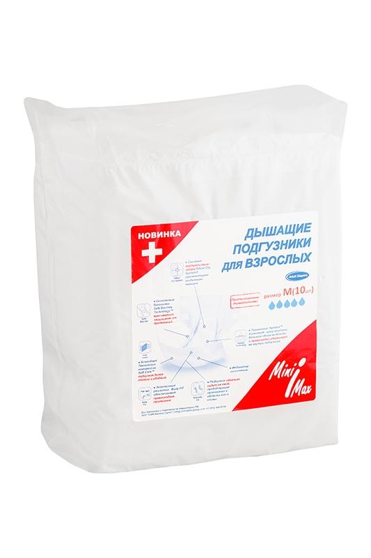 MiniMax Подгузники для взрослых размер M 10 шт подгузники для взрослых bks