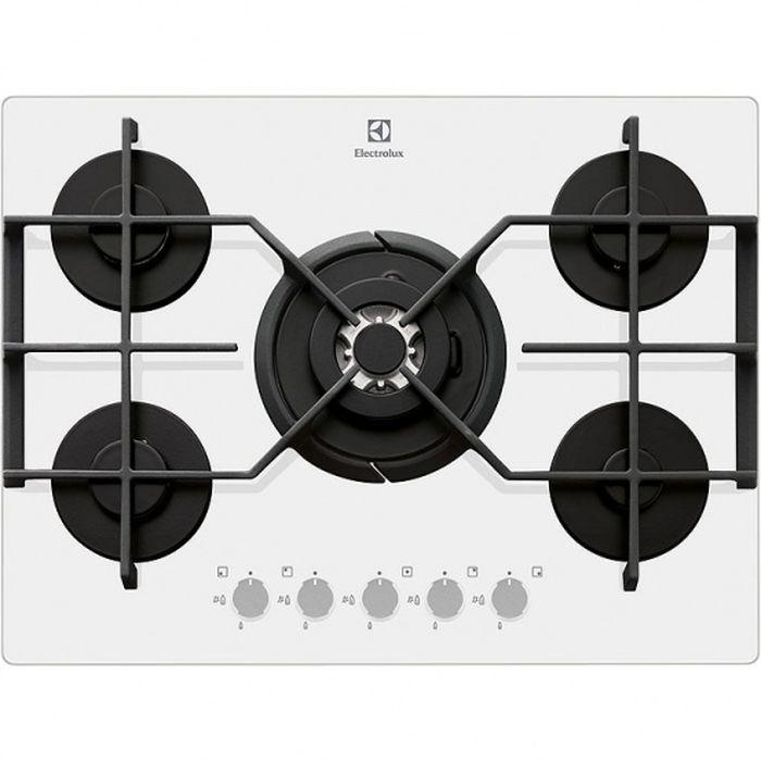 Electrolux EGT97353YW газовая варочная панель - Варочные панели