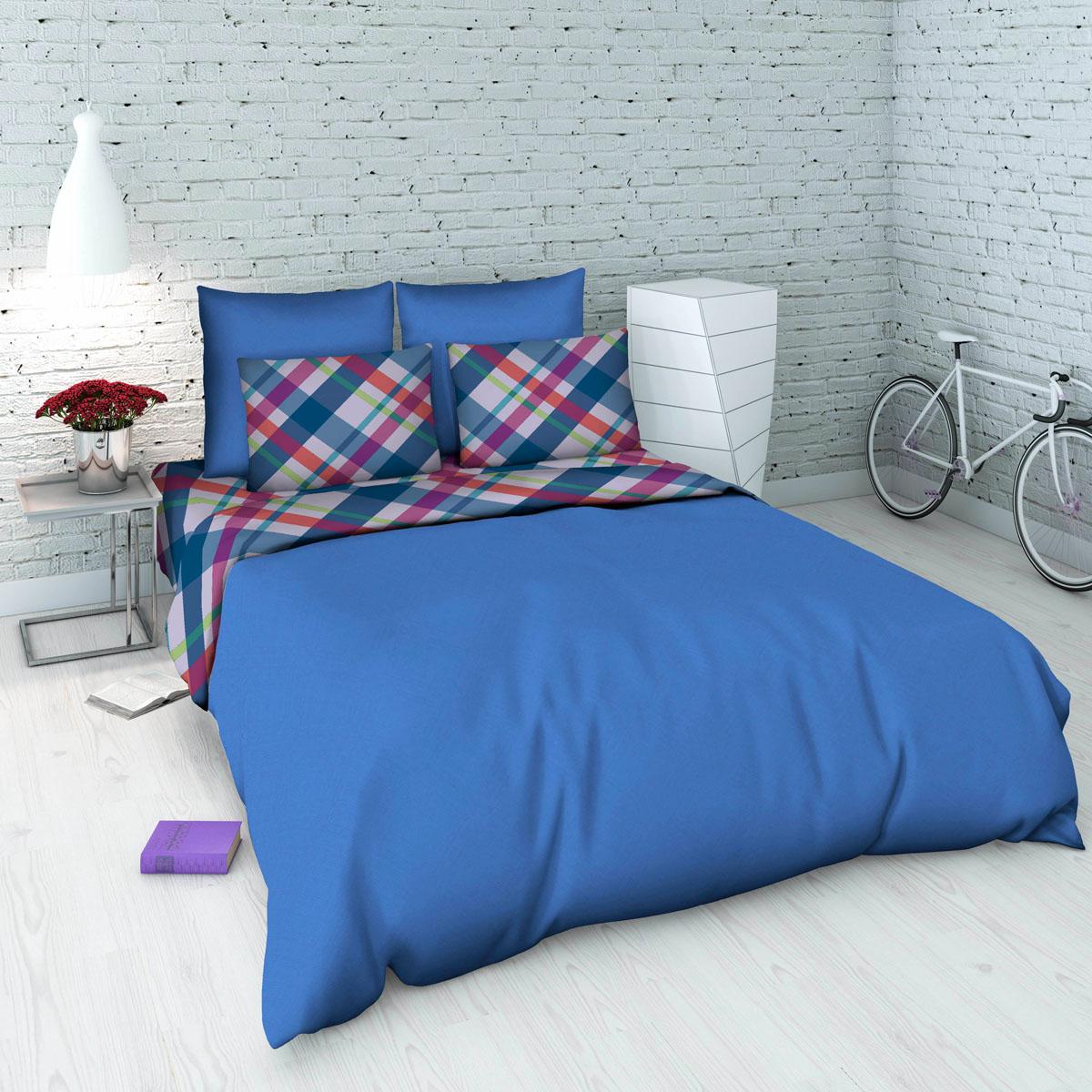 Комплект белья Василиса, 1,5-спальный, наволочки 70х70, цвет: голубой. 5345_2/1,55345_2/1,5Комплект постельного белья Василиса состоит из пододеяльника, простыни и двух наволочек.Белье изготовлено из бязи (100% хлопка) - гипоаллергенного, экологичного, высококачественного, крупнозакрученного волокна. Использование особо тонкой пряжи делает ткань мягче на ощупь, обеспечивает легкое глажение и позволяет передать всю насыщенность цветовой гаммы. Благодаря более плотному переплетению нитей и использованию высококачественных импортных красителей постельное белье выдерживает до 70 стирок. На ткани не образуются катышки.Способ застегивания наволочки - клапан, пододеяльника - отверстие без застежки по краю изделия с подвернутым краем. Приобретая комплект постельного белья Василиса, вы можете быть уверены в том, что покупка доставит вам удовольствие и подарит максимальный комфорт.Советы по выбору постельного белья от блогера Ирины Соковых. Статья OZON Гид