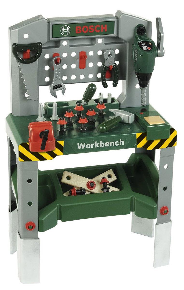 klein игровой набор bosch кухонный центр стайл 18 предметов Klein Игровой набор Верстак Bosch