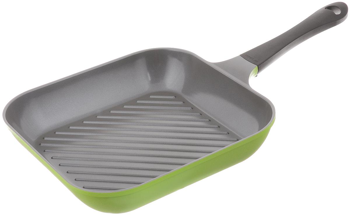 Сковорода-гриль Frybest Oliva, с керамическим покрытием, 28 х 28 см