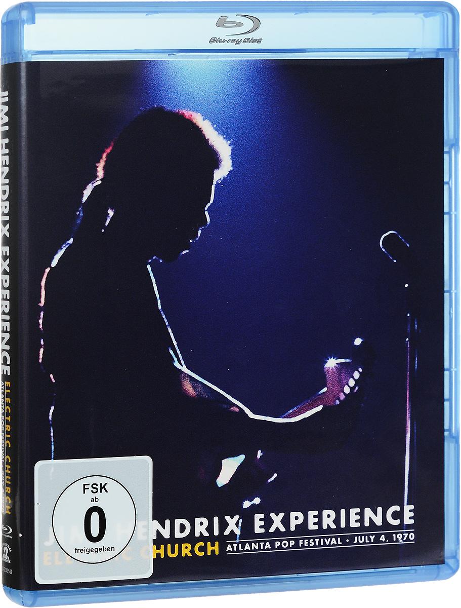 Jimi Hendrix Experience: Electric Church: Atlanta Pop Festival: July 4, 1970 (Blu-ray) виниловая пластинка the jimi hendrix experience electric ladyland