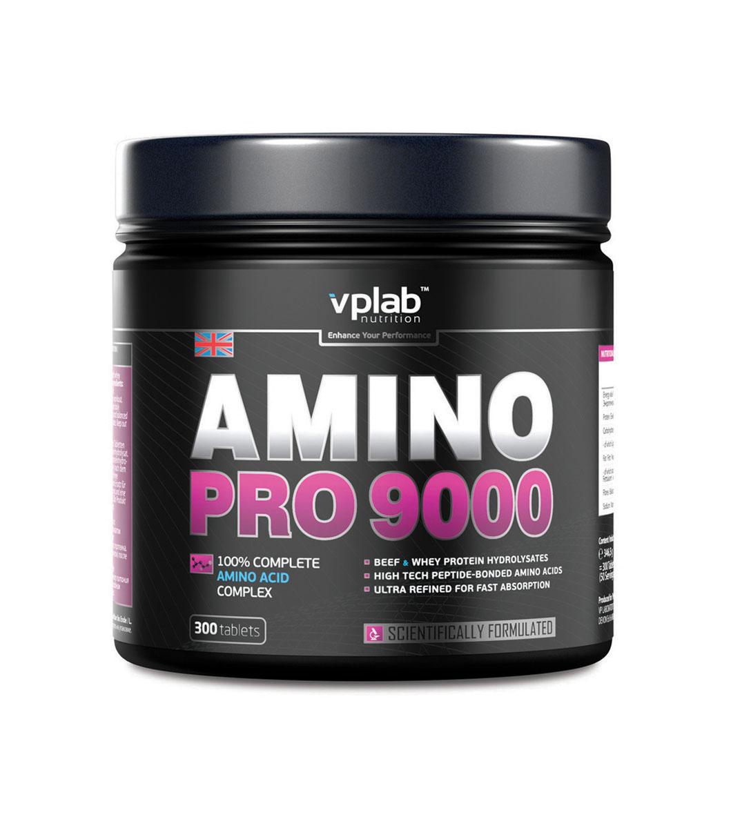 Аминокислотный комплекс VPLab Amino Pro 9000, 300 таблетокV51383Гидролизат говяжьего протеина обладает наивысшим анаболическим потенциалом. Это великолепный способ получения протеина из мяса, однако, лишенный таких недостатков, как высокое содержания жиров и сравнительно низкая усвояемость. Гидролизат сывороточного протеина характеризуется максимальной скоростью усвоения и наивысшей биологической ценностью. Такое уникальное сочетание протеинов с полным спектром концентрированных аминокислот, оптимально дополняющих друг друга, обеспечивает максимальную всестороннюю поддержку мышечной ткани. Аминокислотный комплекс VPLab Amino Pro 9000 - революционный продукт не содержит никаких добавок и примесей. 100% аминокислотный комплекс с высочайшей биологической ценностью.Питательная ценность на 100 г: энергетическая ценность - 413.0 ккал (1,726.0 кдж), белки - 88.7 г, углеводы - 2.7 г, из которых сахара - 2.7 г, жиры - 5.2, из них насыщенные жирные кислоты - 3.6, клетчатка - 0, натрий - 0.500 г.Аминокислоты на 100 г: Аргинин - 6,290.0 мг, аланин - 4,726.0 мг, аспарагиновая кислота - 7,475.0 мг, цистин - 46.0 мг, глютаминовая кислота - 12.7 г, глицин - 9,401.0 мг, гистидин - 1,252.0 мг, гидроксипролин - 4,755.0 мг, изолейцин - 3,301.0 мг, лейцин - 6,384.0 мг, лизин - 5,670.0 мг, метионин - 1,252.0 мг, фенилаланин - 2,510.0 мг, пролин - 7,733.0 мг, серин - 3,885.0 мг, треонин - 4,127.0 мг, триптофан - 796.0 мг, тирозин - 1,738.0 мг, валин - 3,925.0 мг.Рекомендации по применению: 1 порция после тренировки.Товар сертифицирован.Как повысить эффективность тренировок с помощью спортивного питания? Статья OZON Гид