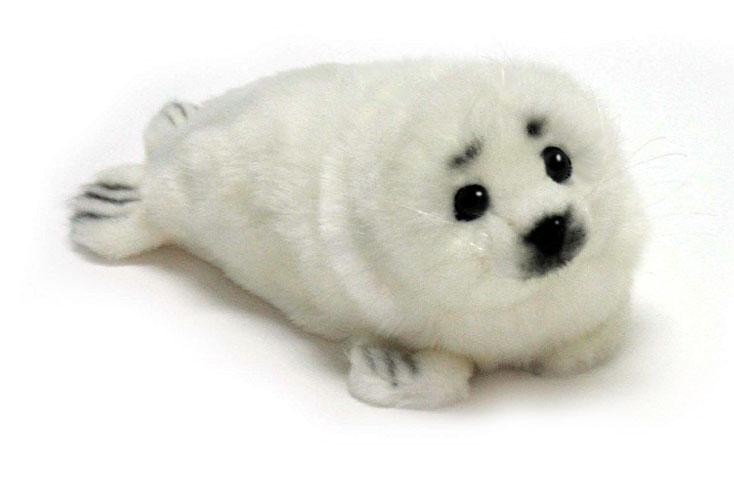 Hansa Мягкая игрушка Тюлень белек 29 см мягкие игрушки hansa гренландский тюлень 38 см