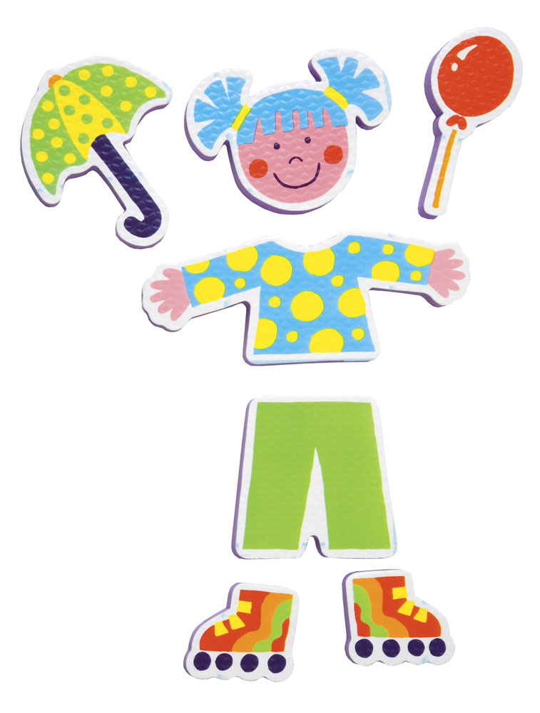 Alex Игрушка для ванной Фигурки-стикеры Друзья игрушки для ванной alex игрушки для ванны джунгли