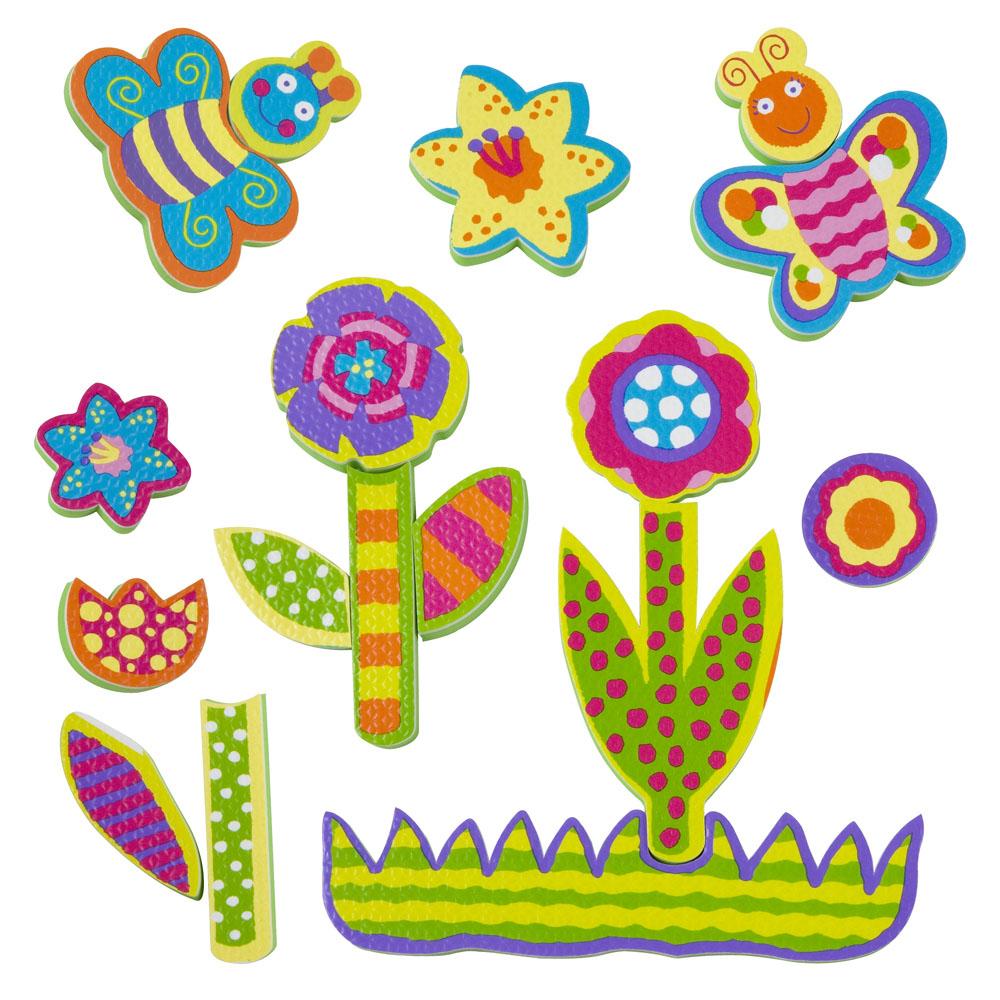 Alex Игрушка для ванной Фигурки-стикеры Сад игрушки для ванны tolo toys набор ведерок квадратные