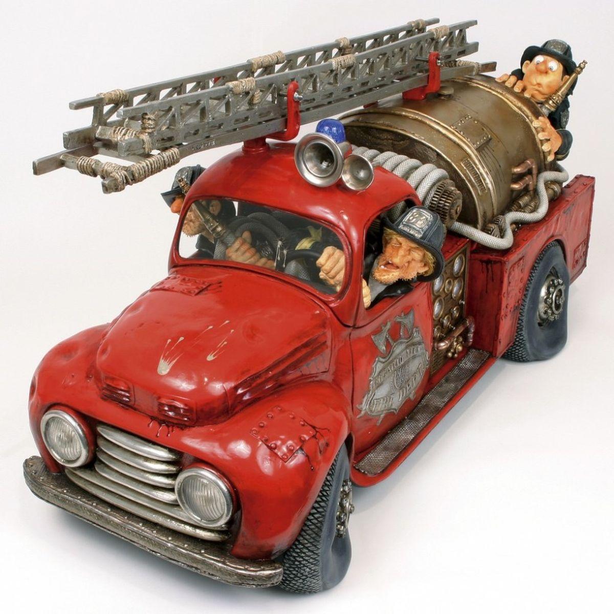 Статуэтка Gillermo Forchino Пожарная Машина 50% статуэтки forchino статуэтка shelby cobra 427 s c