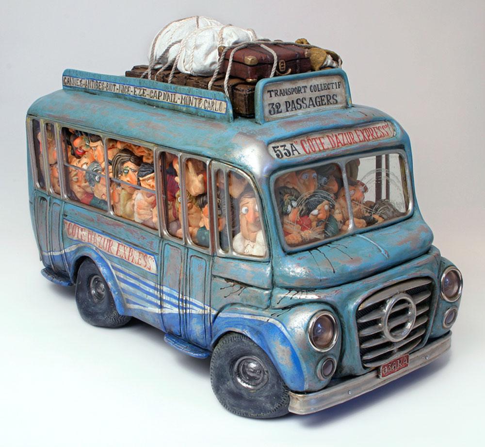 Статуэтка Gillermo Forchino Автобус статуэтка gillermo forchino грузовик фермера