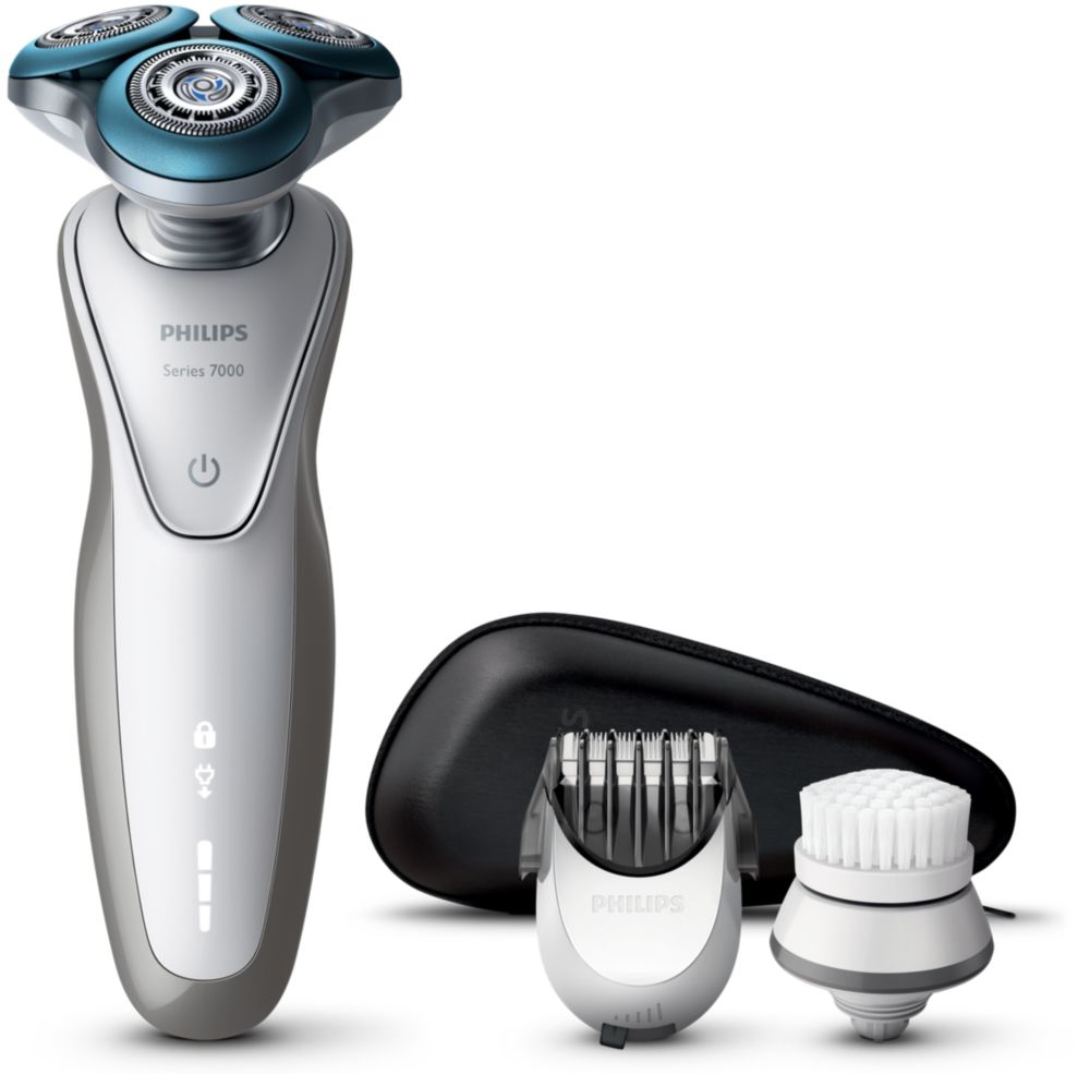 Philips S7530/50 Shaver series 7000, Silver электробритва