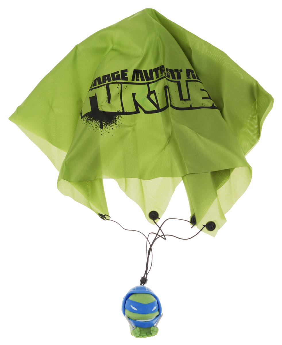 Черепашки Ниндзя Фигурка-мялка с парашютом Леонардо игра настольная черепашки ниндзя