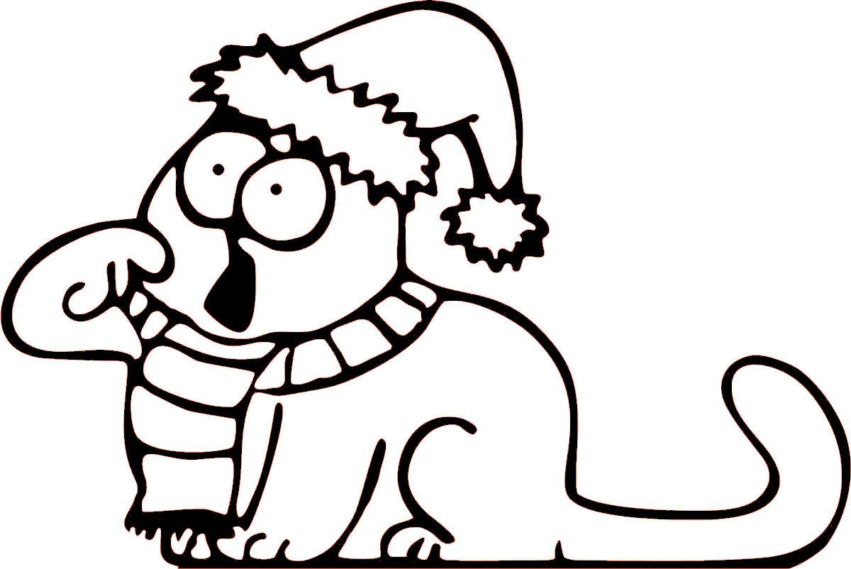 Наклейка автомобильная Оранжевый слоник Зимний кот, виниловая, цвет: черный150NG0004BОригинальная наклейка Оранжевый слоник Зимний кот изготовлена из высококачественной виниловой пленки, которая выполняет не только декоративную функцию, но и защищает кузов автомобиля от небольших механических повреждений, либо скрывает уже существующие.Виниловые наклейки на автомобиль - это не только красиво, но еще и быстро! Всего за несколько минут вы можете полностью преобразить свой автомобиль, сделать его ярким, необычным, особенным и неповторимым!