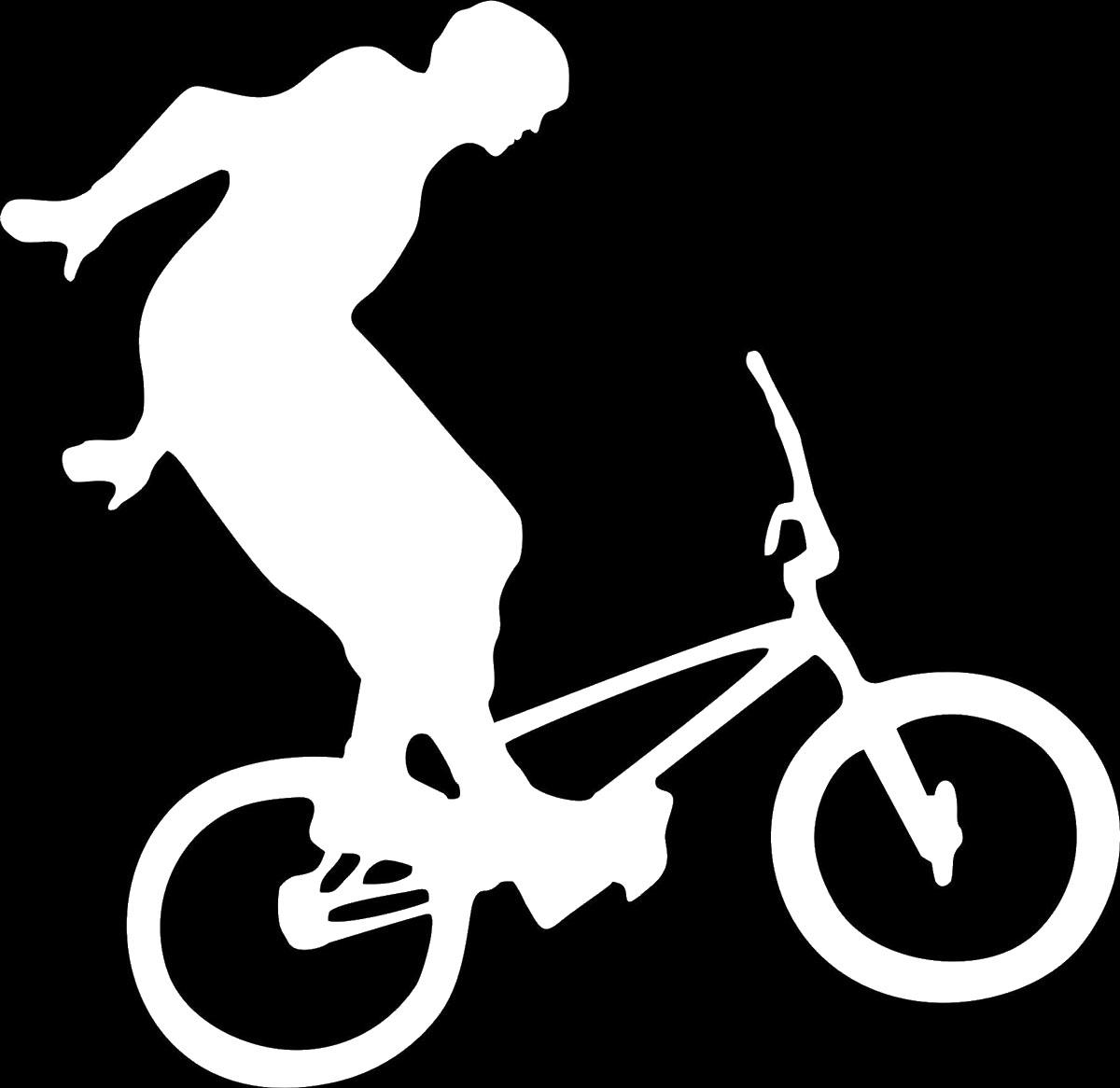 Наклейка автомобильная Оранжевый слоник Велосипедист 3, виниловая, цвет: белый150SP00016WОригинальная наклейка Оранжевый слоник Велосипедист 3 изготовлена из высококачественной виниловой пленки, которая выполняет не только декоративную функцию, но и защищает кузов автомобиля от небольших механических повреждений, либо скрывает уже существующие.Виниловые наклейки на автомобиль - это не только красиво, но еще и быстро! Всего за несколько минут вы можете полностью преобразить свой автомобиль, сделать его ярким, необычным, особенным и неповторимым!