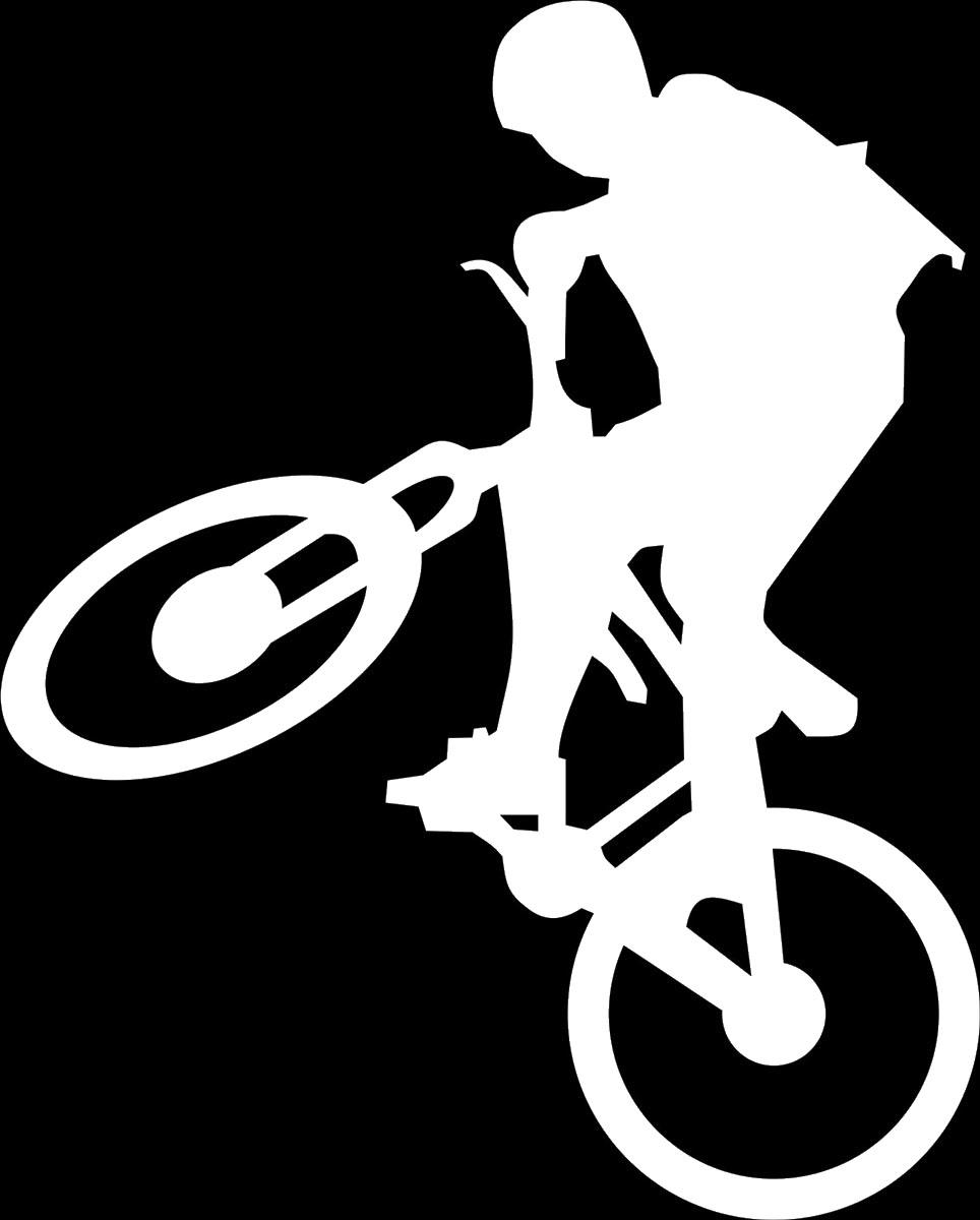 Наклейка автомобильная Оранжевый слоник Велосипедист 2, виниловая, цвет: белый150SP0004WОригинальная наклейка Оранжевый слоник Велосипедист 2 изготовлена из высококачественного винила, который выполняет не только декоративную функцию, но и защищает кузов от небольших механических повреждений, либо скрывает уже существующие.Виниловые наклейки на авто - это не только красиво, но еще и быстро! Всего за несколько минут вы можете полностью преобразить свой автомобиль, сделать его ярким, необычным, особенным и неповторимым!