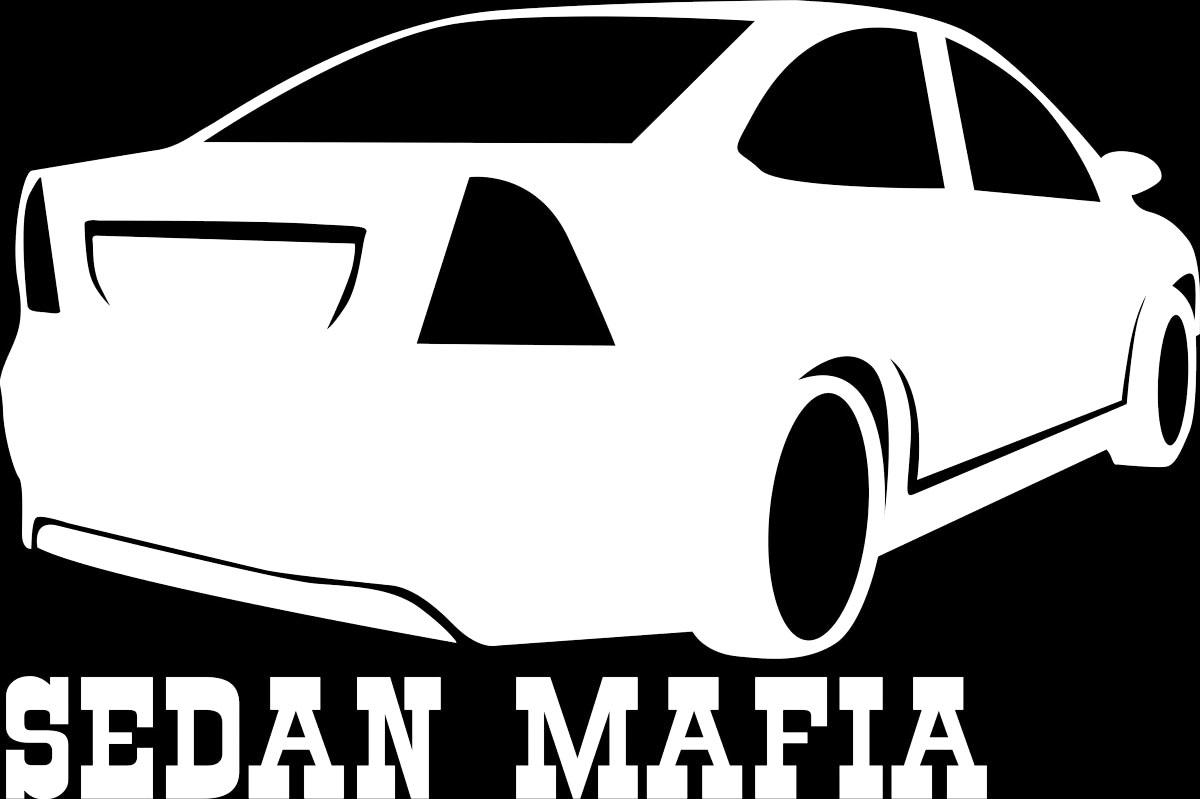 Наклейка автомобильная Оранжевый слоник Sedan Mafia 2, виниловая, цвет: белый наклейка автомобильная оранжевый слоник niva mafia виниловая цвет белый