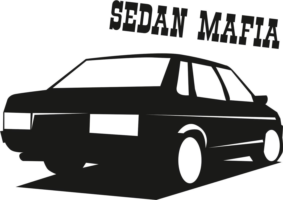 Наклейка автомобильная Оранжевый слоник Sedan Mafia, виниловая, цвет: черный150TM0002BОригинальная наклейка Оранжевый слоник Sedan Mafia изготовлена из высококачественной виниловой пленки, которая выполняет не только декоративную функцию, но и защищает кузов автомобиля от небольших механических повреждений, либо скрывает уже существующие.Виниловые наклейки на автомобиль - это не только красиво, но еще и быстро! Всего за несколько минут вы можете полностью преобразить свой автомобиль, сделать его ярким, необычным, особенным и неповторимым!