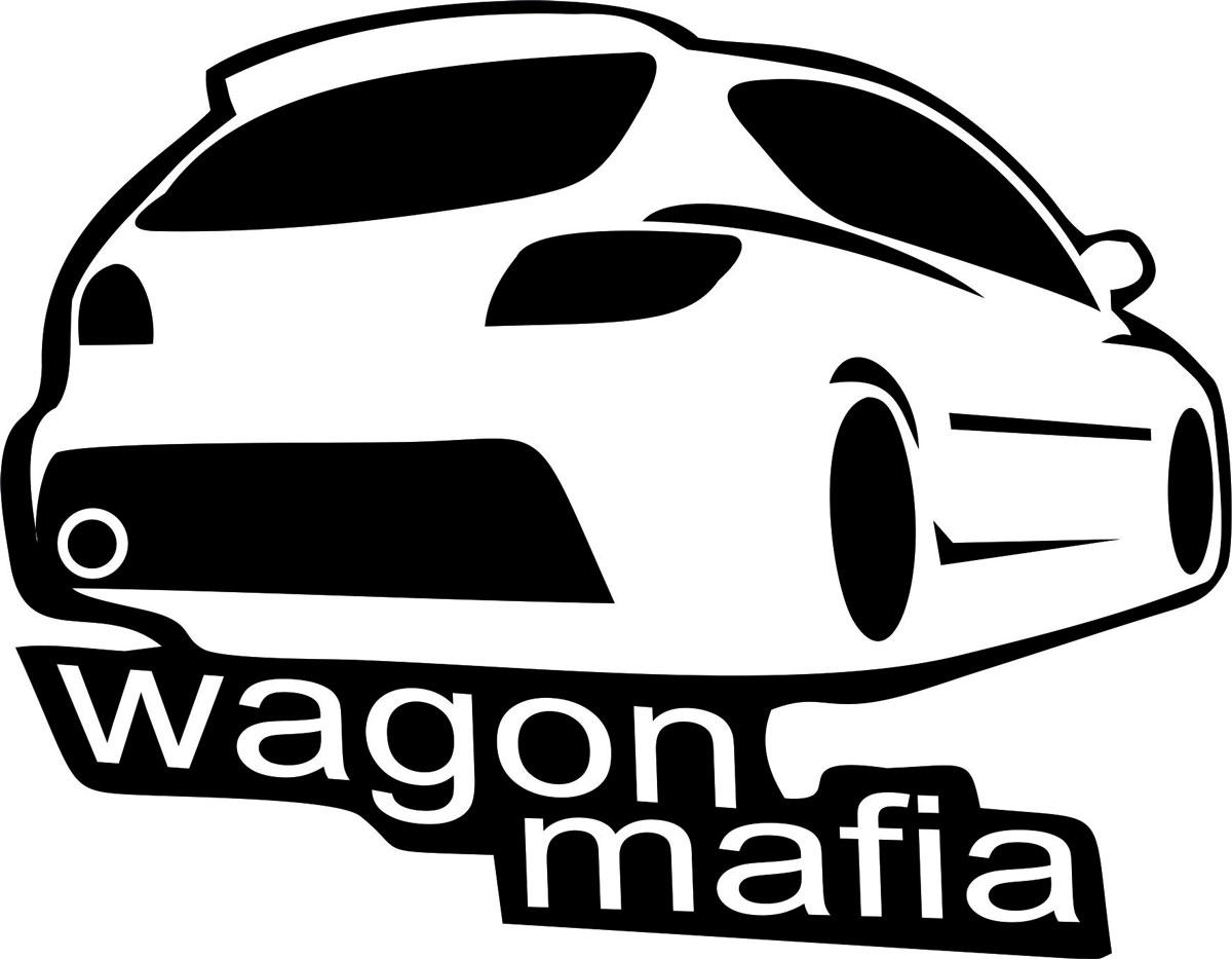 Наклейка автомобильная Оранжевый слоник Wagon Mafia 4, виниловая, цвет: черный наклейка автомобильная оранжевый слоник niva mafia виниловая цвет белый